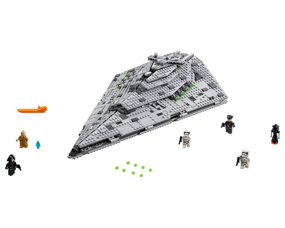 LEGO Set 75190-1 First Order Star Destroyer (LEGO - Model)