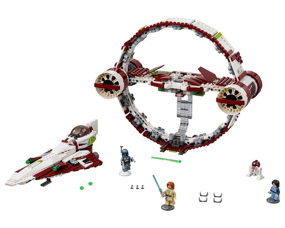 LEGO Set 75191-1 Jedi Starfighter with Hyperdrive (Model - A-Model)