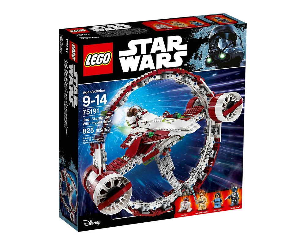 LEGO Set 75191-1 Jedi Starfighter with Hyperdrive