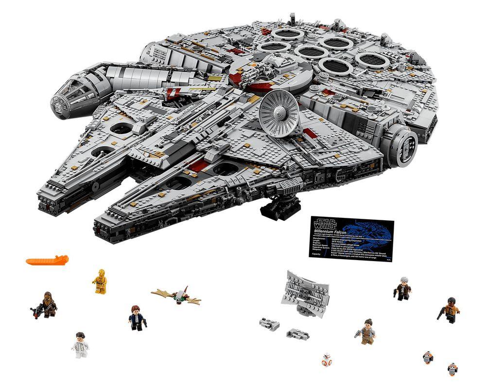 LEGO Set 75192-1 UCS Millennium Falcon (Model - A-Model)