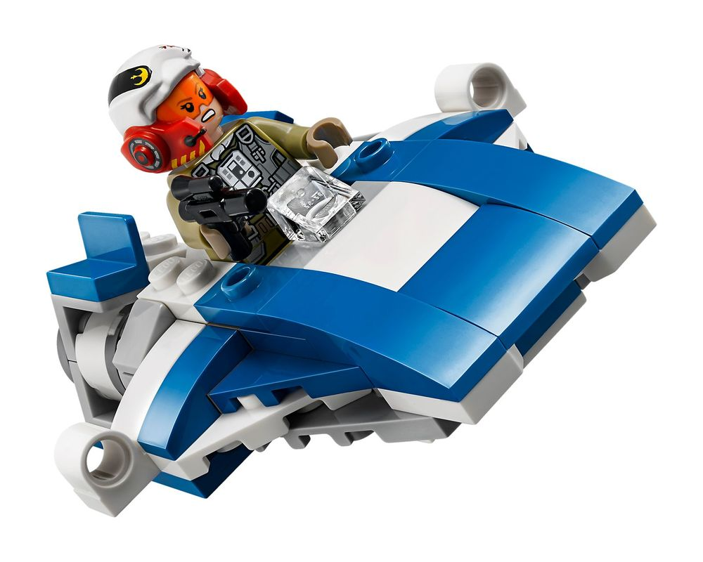 LEGO Set 75196-1 A-Wing vs TIE Silencer Microfighter