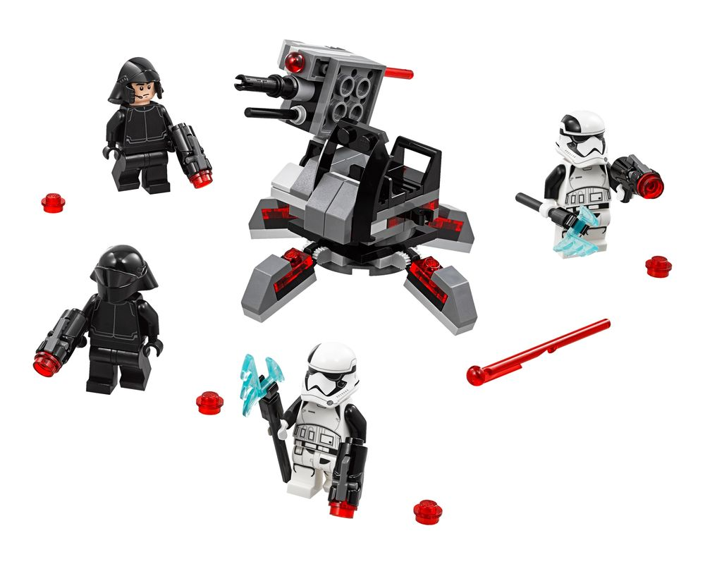 LEGO Set 75197-1 First Order Specialists Battle Pack (Model - A-Model)