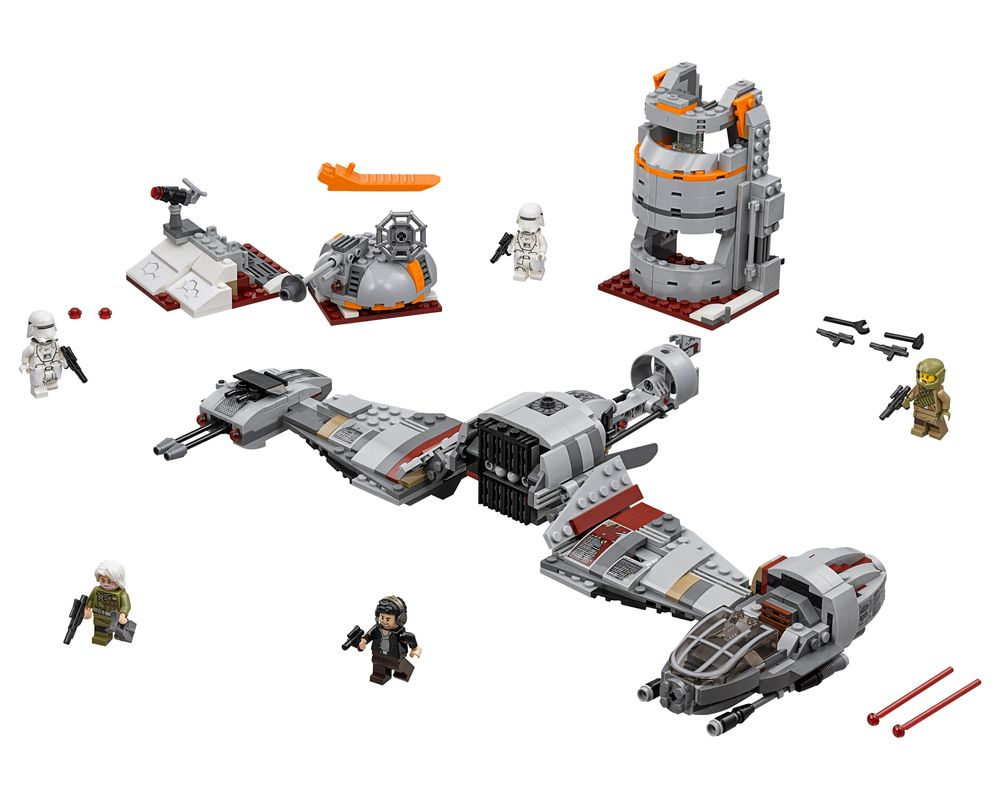LEGO Set 75202-1 Defense of Crait (Model - A-Model)