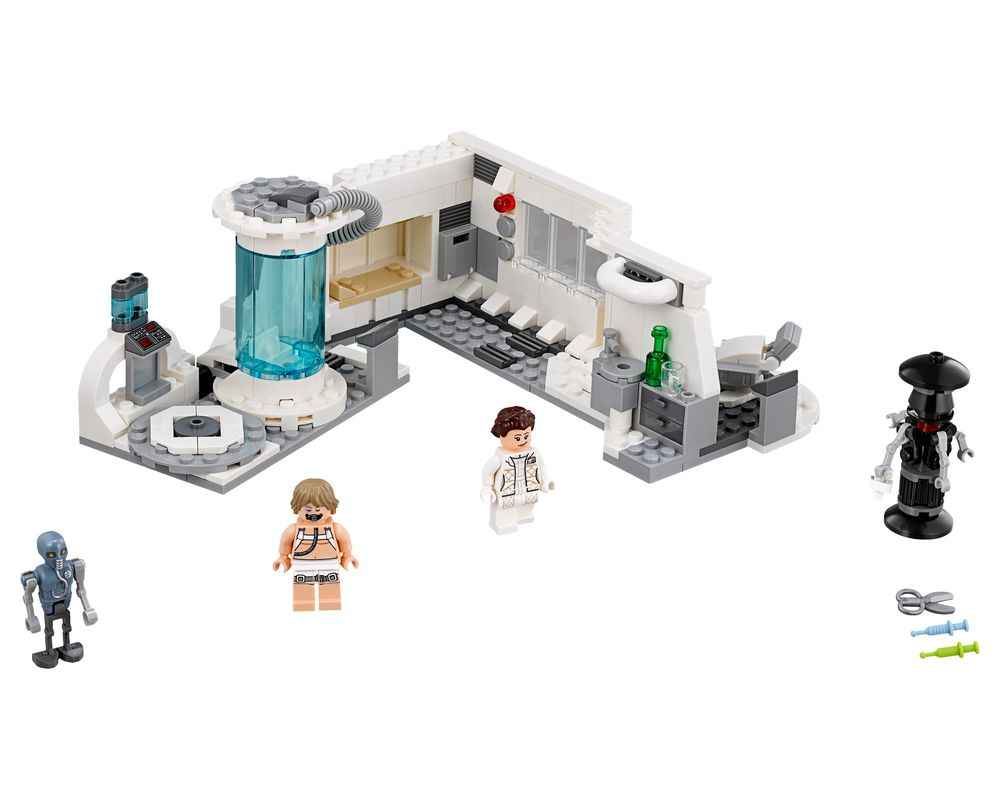 LEGO Set 75203-1 Hoth Medical Chamber (Model - A-Model)