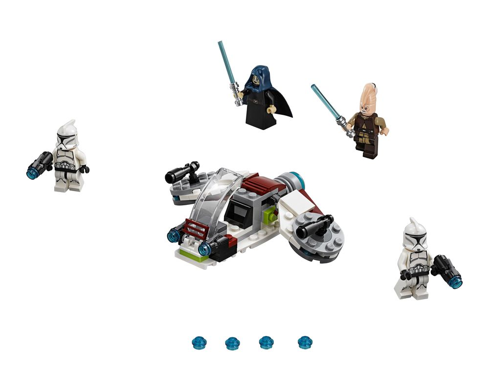LEGO Set 75206-1 Jedi and Clone Troopers Battle Pack (Model - A-Model)