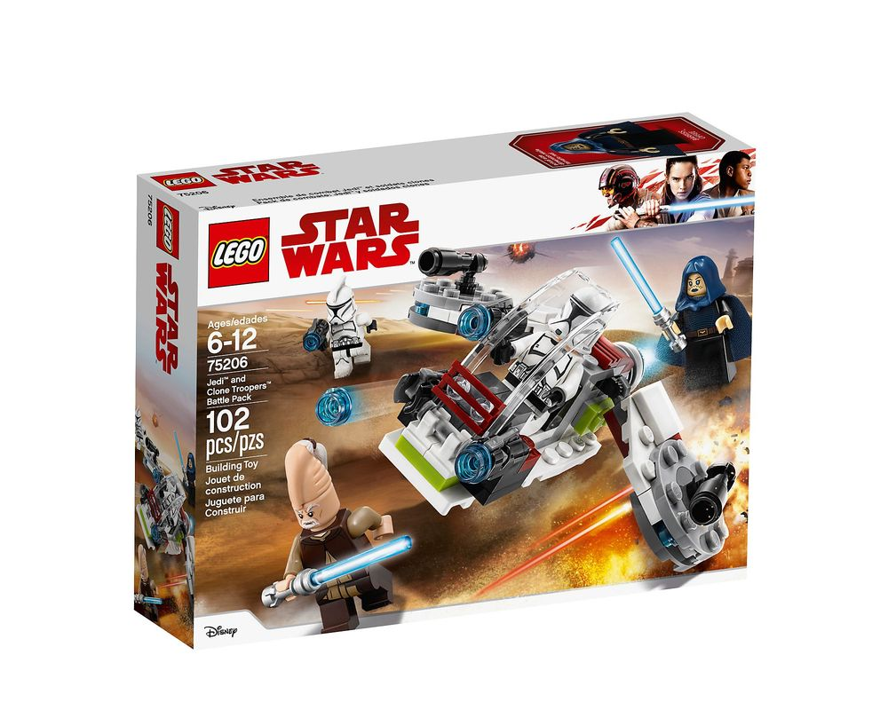 LEGO Set 75206-1 Jedi and Clone Troopers Battle Pack