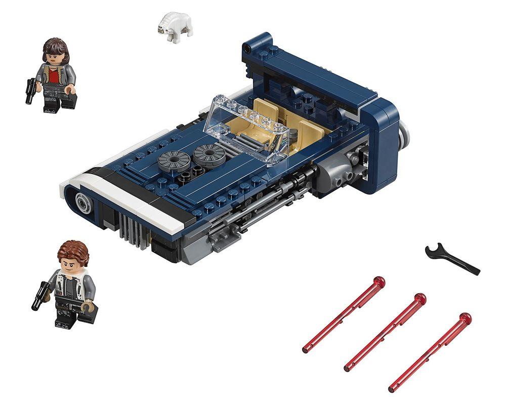 LEGO Set 75209-1 Han Solo's Landspeeder (Model - A-Model)