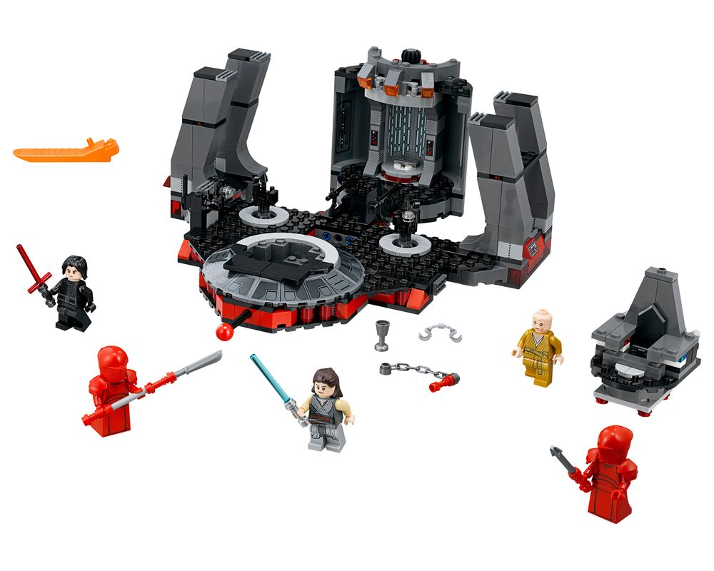LEGO Set 75216-1 Snoke's Throne Room (LEGO - Model)