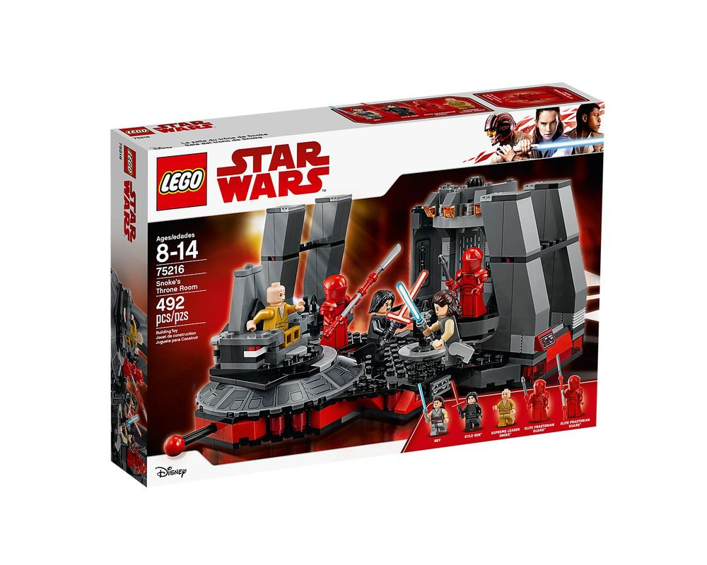 LEGO Set 75216-1 Snoke's Throne Room