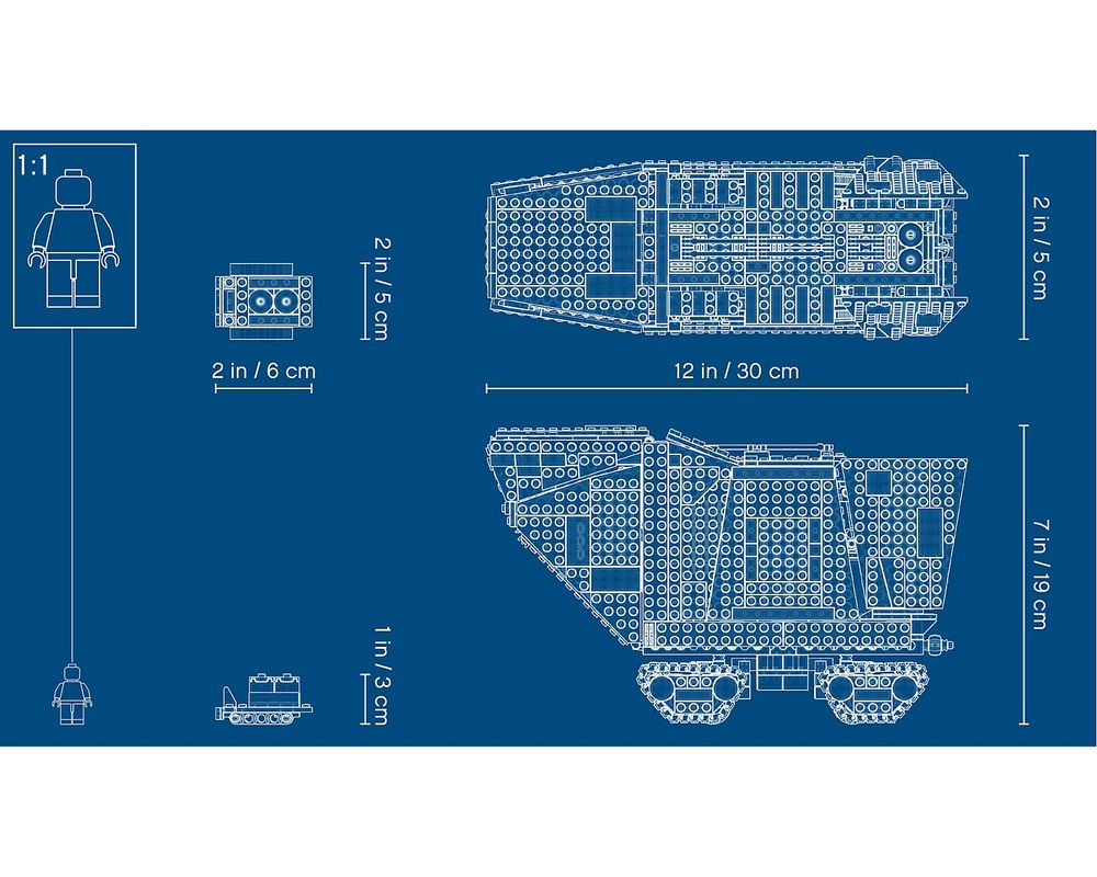 LEGO Set 75220-1 Sandcrawler