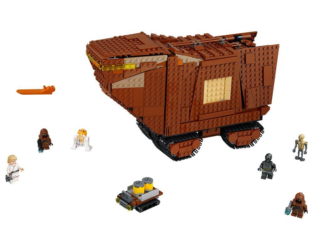 LEGO Set 75220-1 Sandcrawler (Model - A-Model)