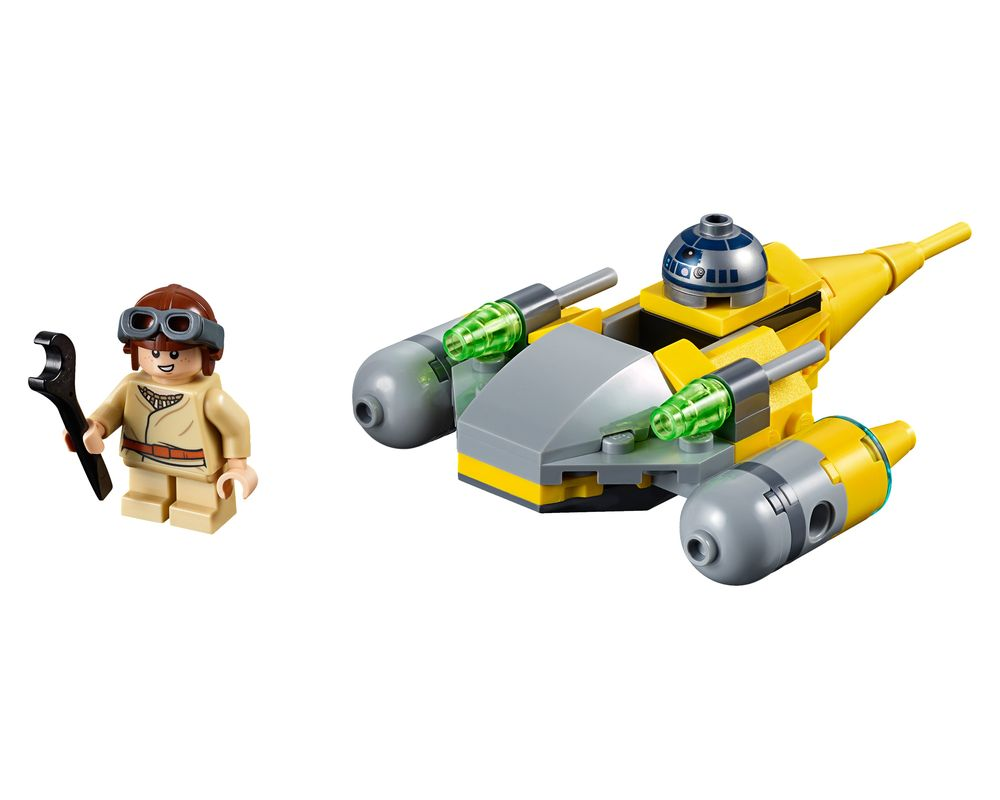 LEGO Set 75223-1 Naboo Starfighter Microfighter (Model - A-Model)