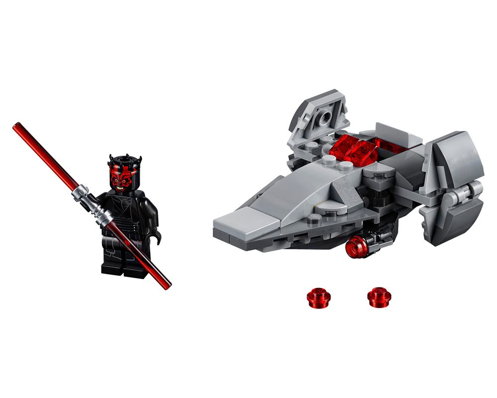 LEGO Set 75224-1 Sith Infiltrator Microfighter (Model - A-Model)