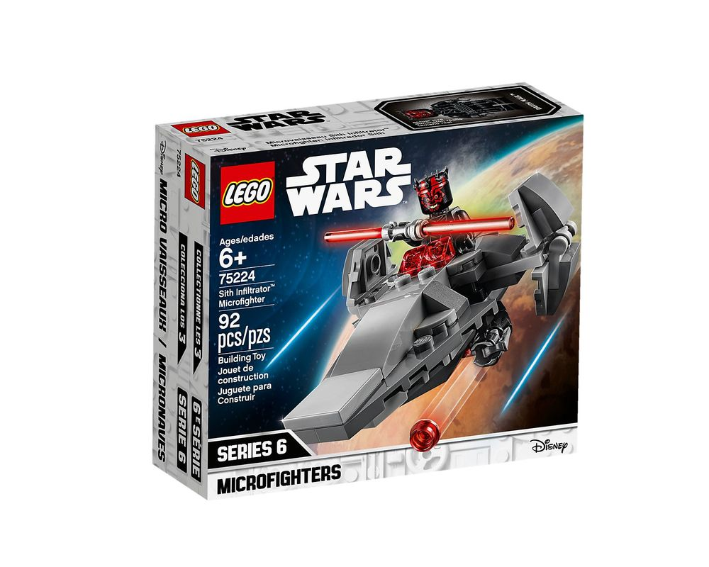 LEGO Set 75224-1 Sith Infiltrator Microfighter