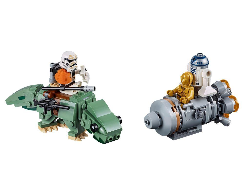 LEGO Set 75228-1 Escape Pod vs. Dewback Microfighters (LEGO - Model)