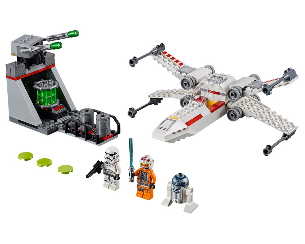 LEGO Set 75235-1 X-Wing Starfighter Trench Run (Model - A-Model)