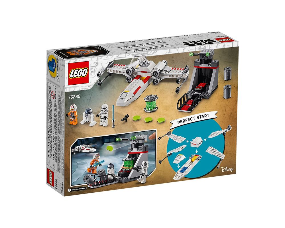 LEGO Set 75235-1 X-Wing Starfighter Trench Run