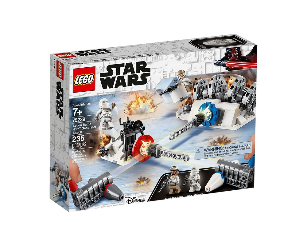 LEGO Set 75239-1 Action Battle Hoth Generator Attack