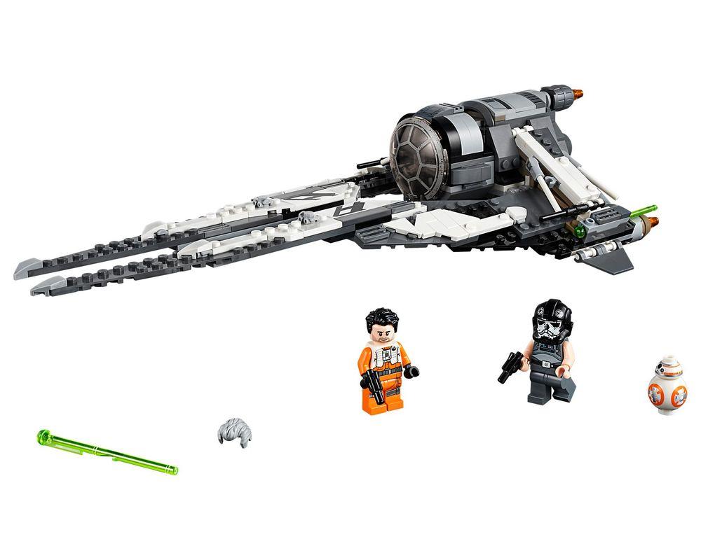 LEGO Set 75242-1 Black Ace TIE Interceptor