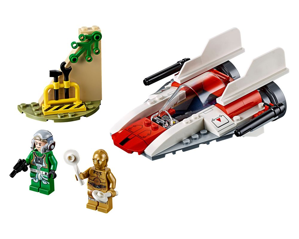 LEGO Set 75247-1 Rebel A-Wing Starfighter (Model - A-Model)