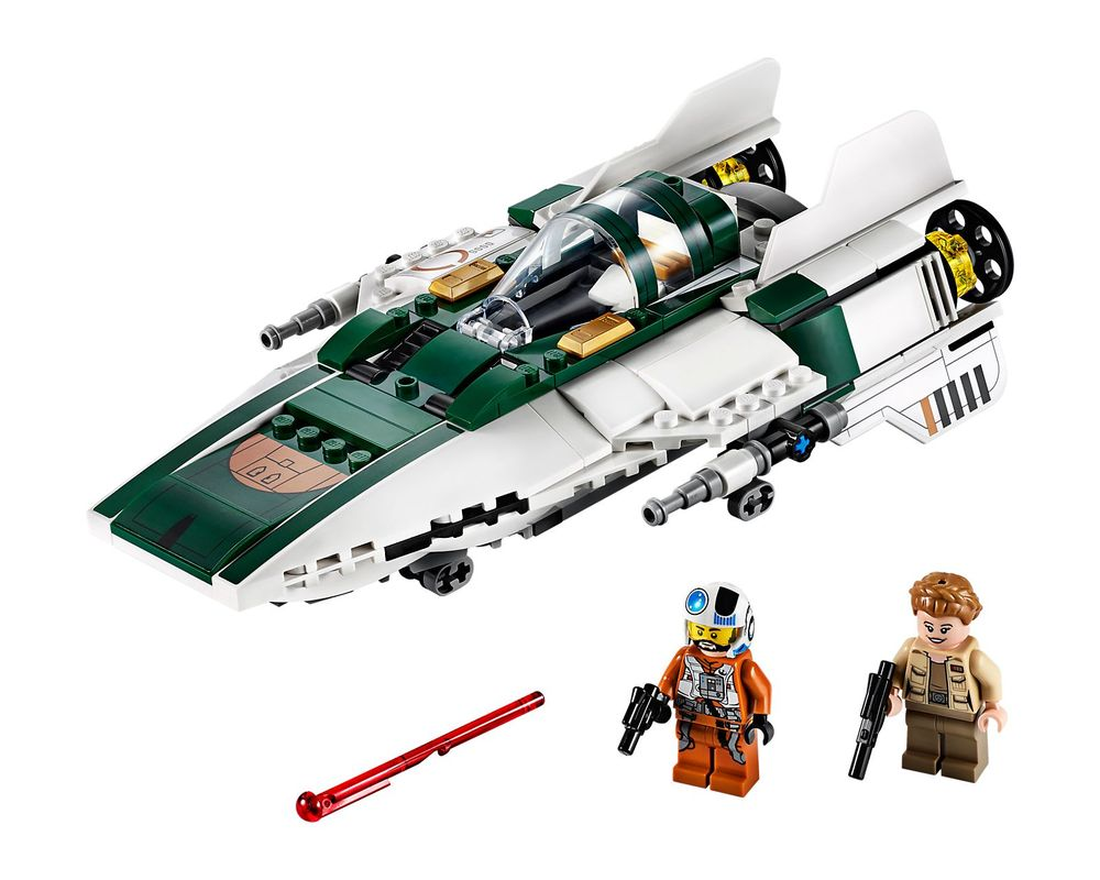 LEGO Set 75248-1 Resistance A-Wing Starfighter (Model - A-Model)