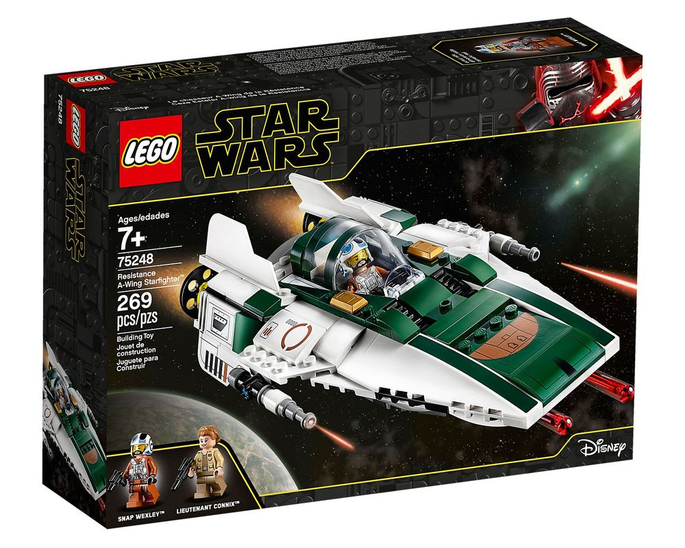 LEGO Set 75248-1 Resistance A-Wing Starfighter