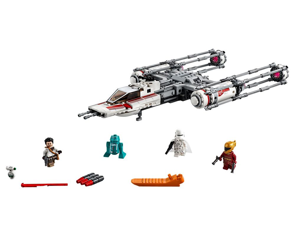 LEGO Set 75249-1 Resistance Y-Wing Starfighter (Model - A-Model)