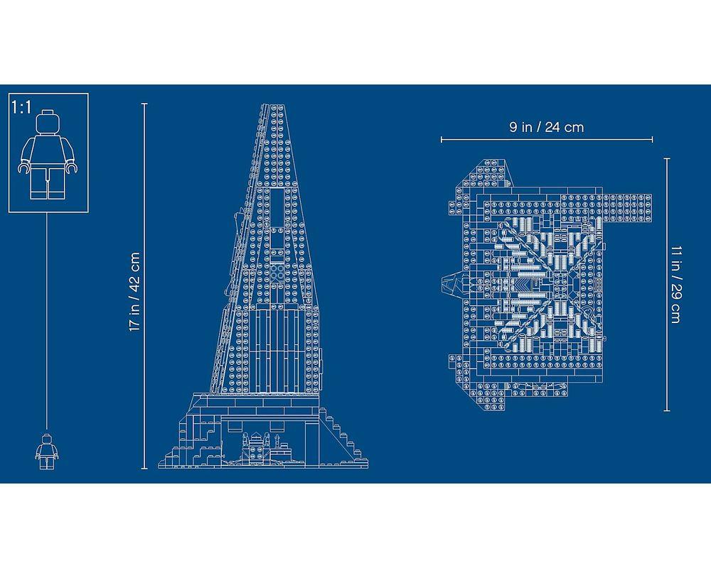LEGO Set 75251-1 Darth Vader's Castle