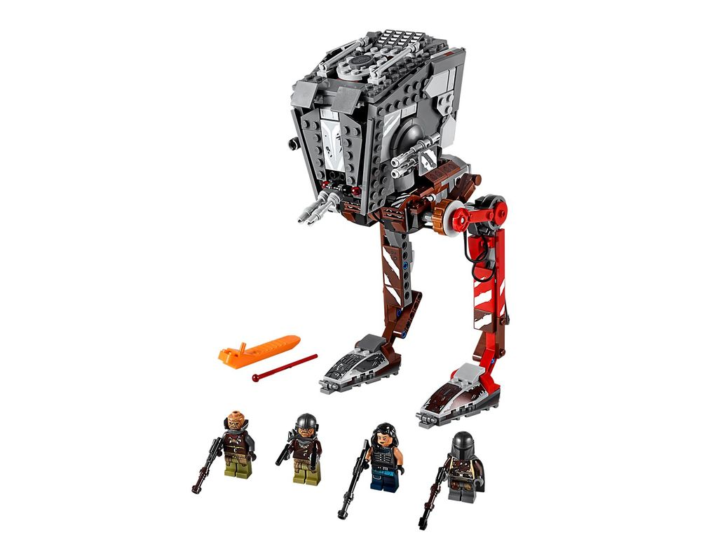LEGO Set 75254-1 AT-ST Raider (Model - A-Model)