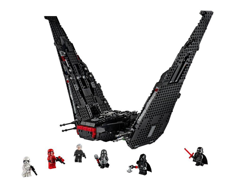 LEGO Set 75256-1 Kylo Ren's Shuttle (Model - A-Model)