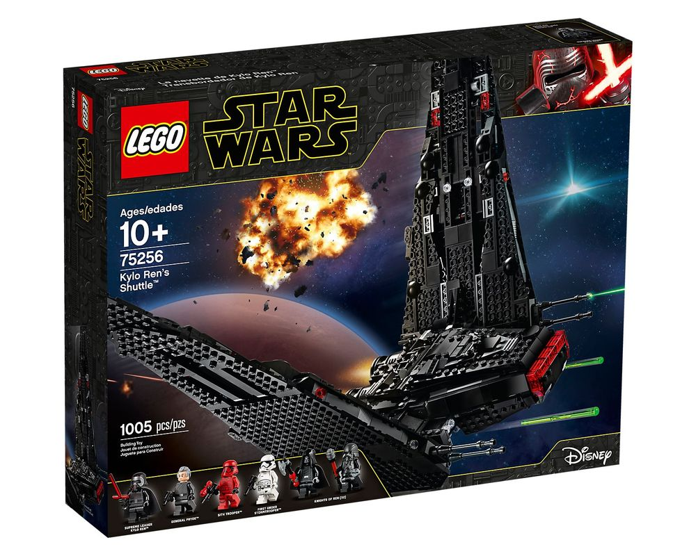 LEGO Set 75256-1 Kylo Ren's Shuttle