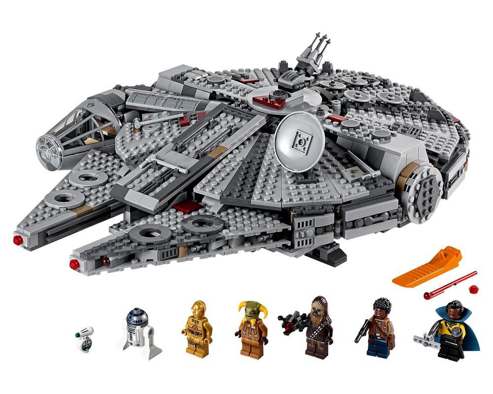 LEGO Set 75257-1 Millennium Falcon (Model - A-Model)