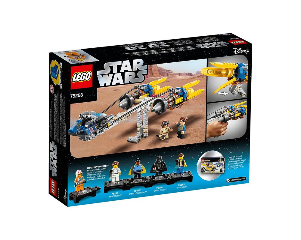 LEGO Set 75258-1 Anakin's Podracer - 20th Anniversary Edition