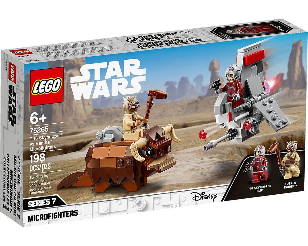 LEGO Set 75265-1 T-16 Skyhopper vs. Bantha Microfighters (Box - Front)