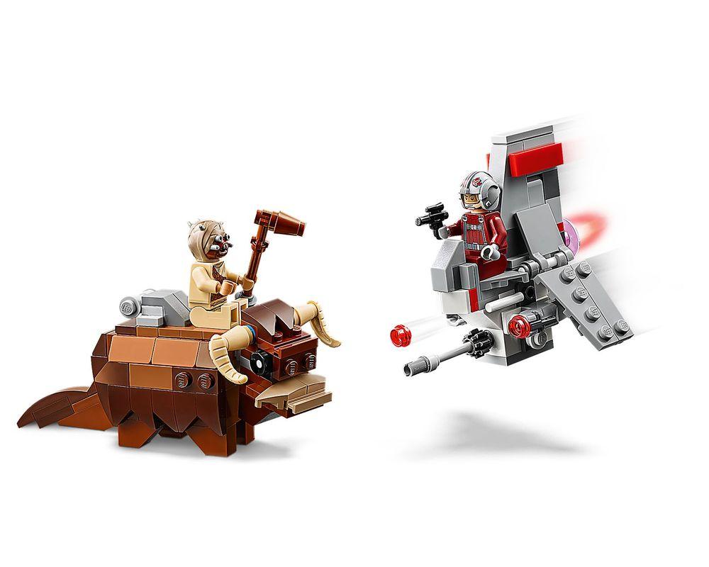 LEGO Set 75265-1 T-16 Skyhopper vs. Bantha Microfighters (Model - A-Model)