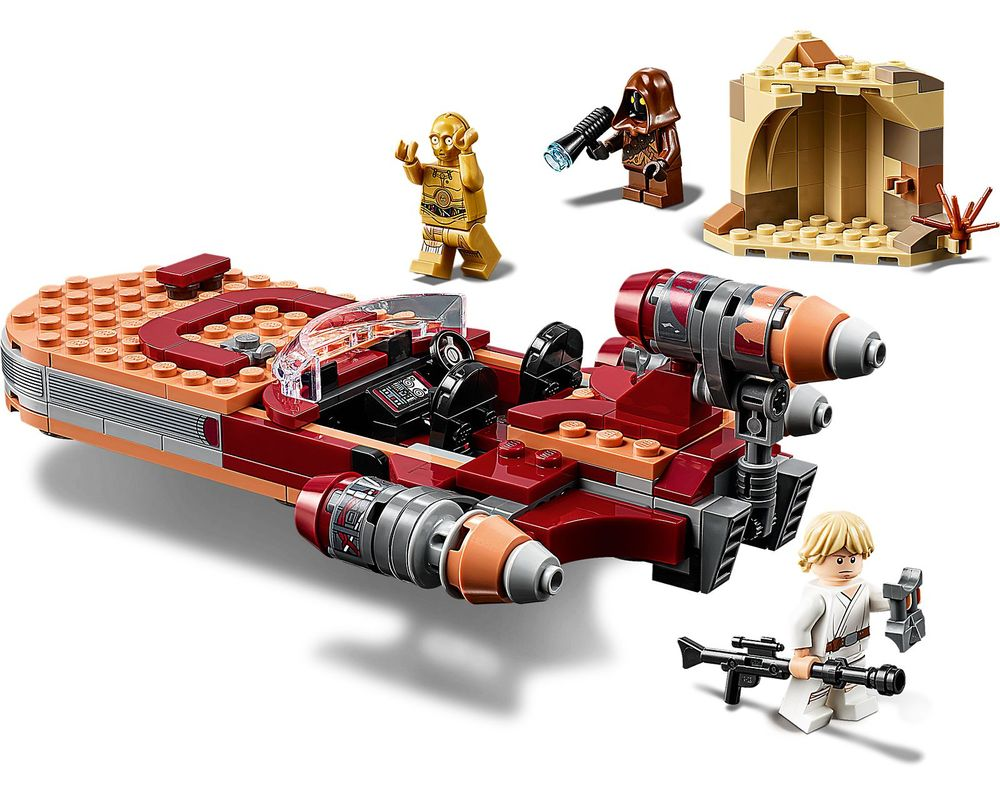 LEGO Set 75271-1 Luke Skywalker's Landspeeder (Model - A-Model)