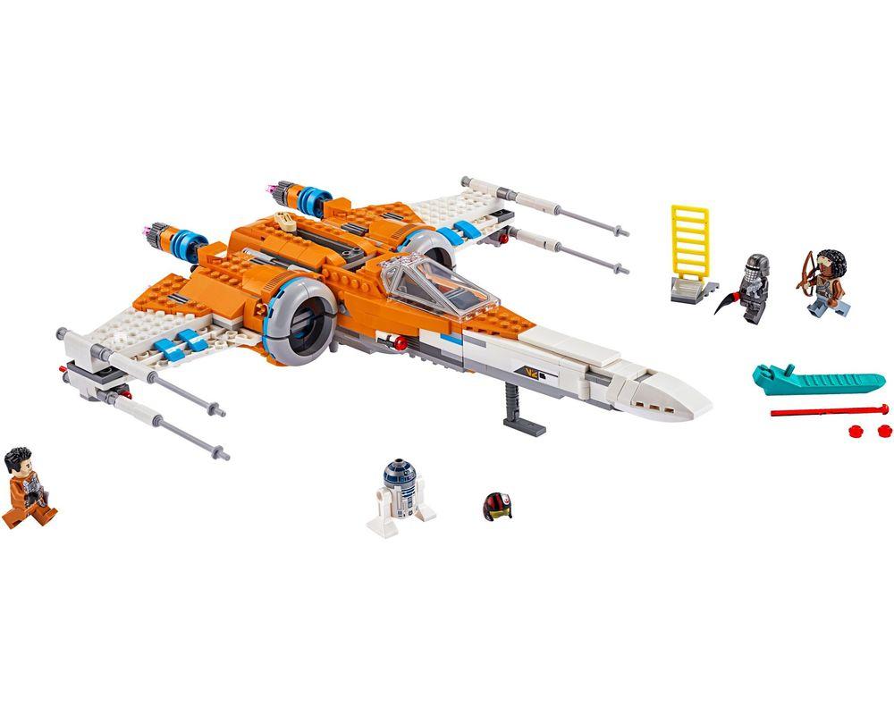 LEGO Set 75273-1 Poe Dameron's X-wing Fighter (LEGO - Model)