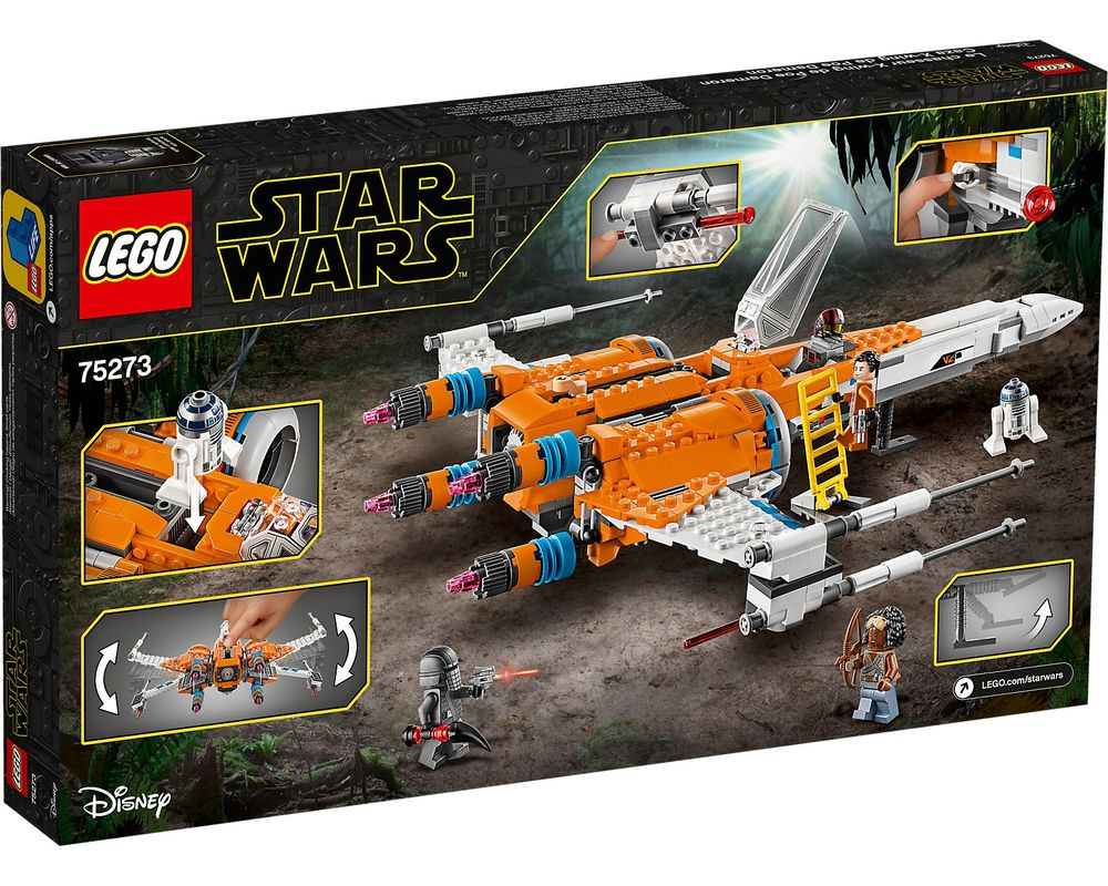 LEGO Set 75273-1 Poe Dameron's X-wing Fighter