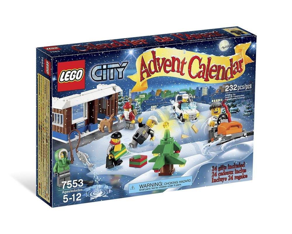 LEGO Set 7553-1 Advent Calendar 2011 City
