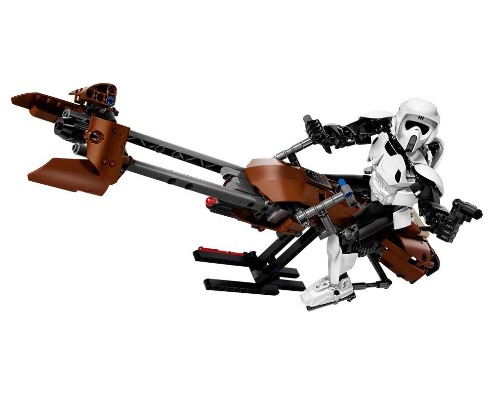 LEGO Set 75532-1 Scout Trooper & Speeder Bike (Model - A-Model)