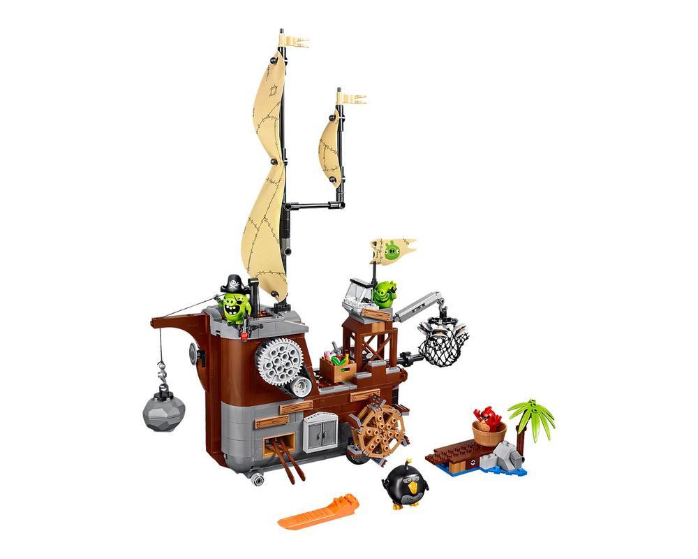 LEGO Set 75825-1 Piggy Pirate Ship (Model - A-Model)