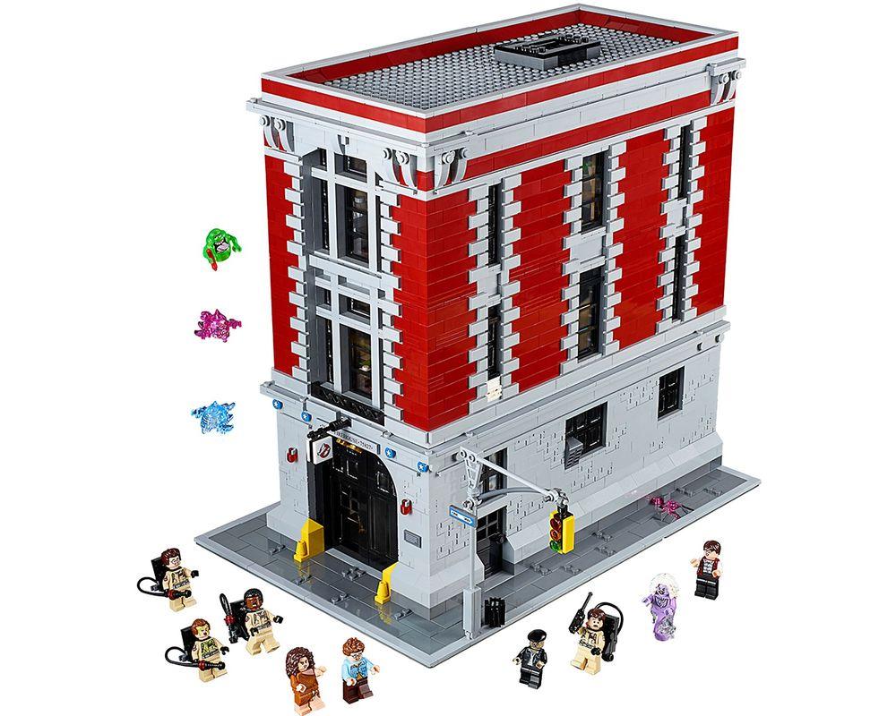LEGO Set 75827-1 Firehouse Headquarters (Model - A-Model)