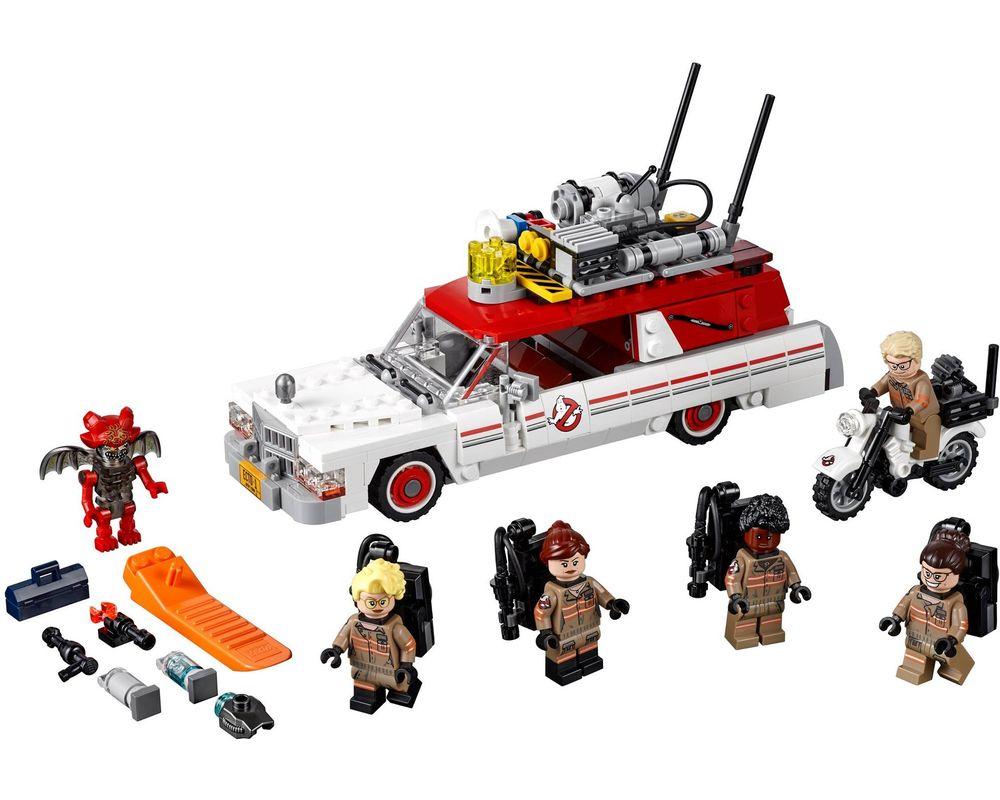LEGO Set 75828-1 Ecto-1 & 2 (LEGO - Model)
