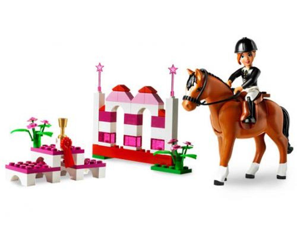 LEGO Set 7587-1 Pony Jumping (LEGO - Model)
