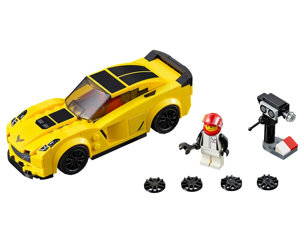 LEGO Set 75870-1 Chevrolet Corvette Z06 (LEGO - Model)