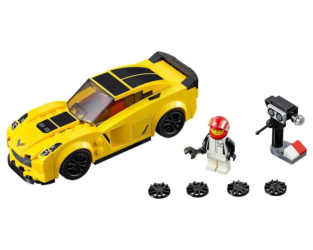 LEGO Set 75870-1 Chevrolet Corvette Z06