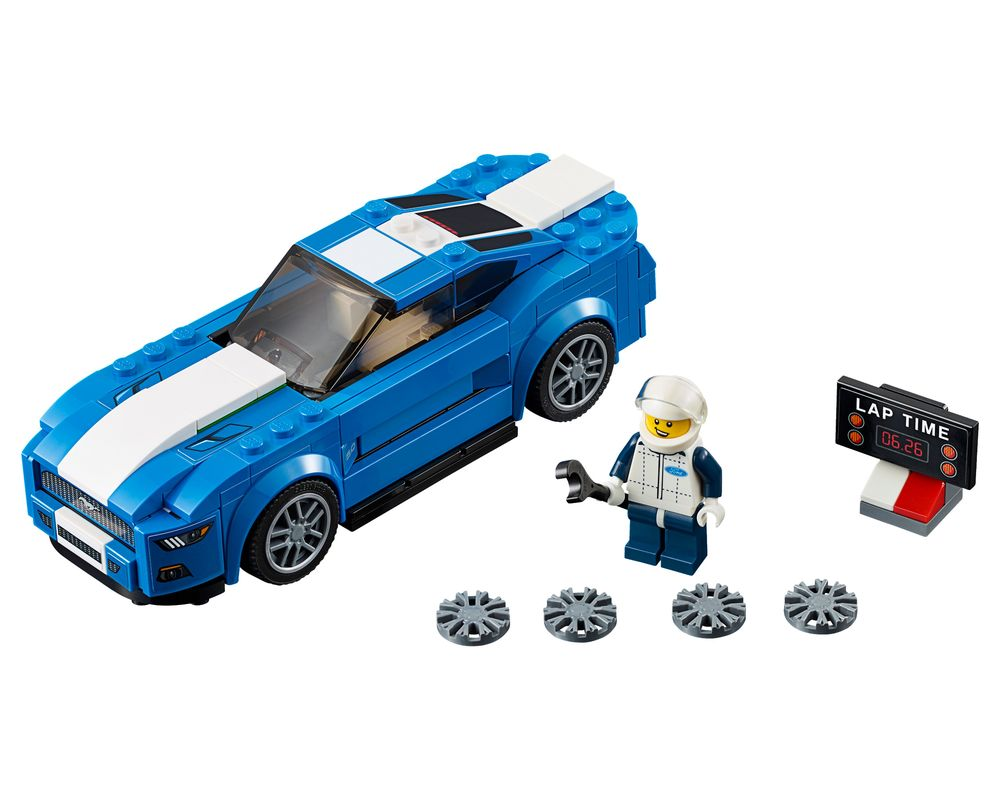 LEGO Set 75871-1 Ford Mustang GT (Model - A-Model)