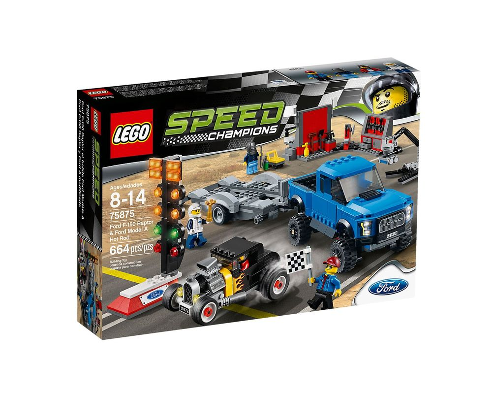 LEGO Set 75875-1 Ford F-150 Raptor & Ford Model A Hot Rod