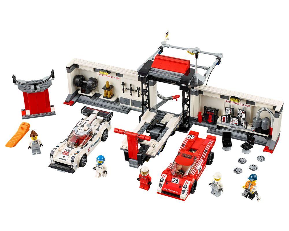 LEGO Set 75876-1 Porsche 919 Hybrid and 917K Pit Lane (Model - A-Model)