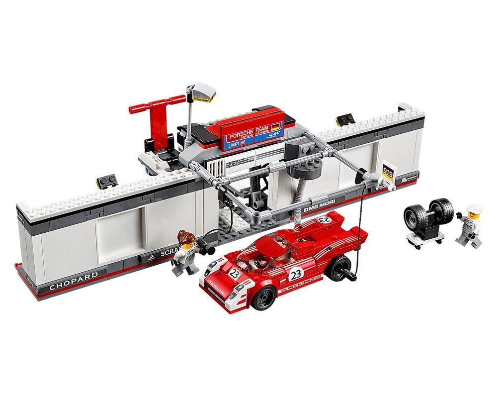 LEGO Set 75876-1 Porsche 919 Hybrid and 917K Pit Lane